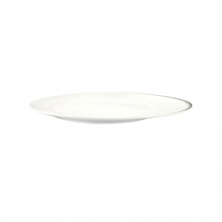 Plato Bajo 28cm Touch Platino Limoges