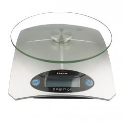Pesa 5kg/1Gr Sobremesa Cristal 61725 Lacor