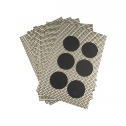 Set 6 Individuales + 6 Posavasos 30x45.5 poly-vin xfg-s2 Kassa-Dini