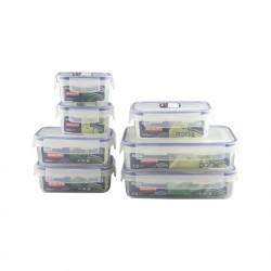 Hermético Plástico Set 7 Piezas Biokips