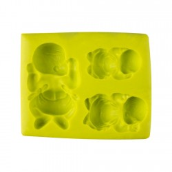 Molde 3D Forma Bebe 8x6.5cm...