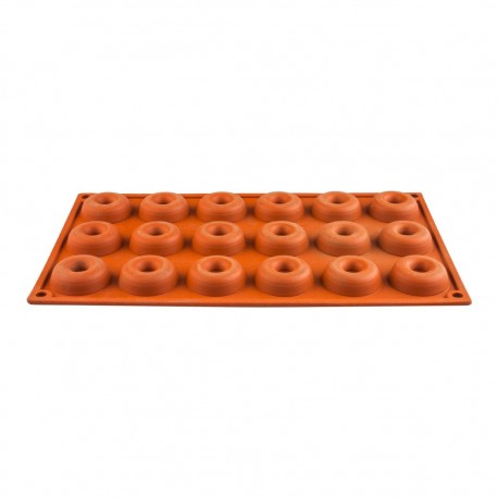 Molde Silicona 18 Cavidades Mini Savarin 66708 Lacor