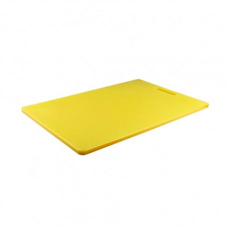 Tabla Cortar 30x46x1.1cm Amarillo Dussel
