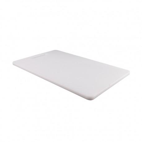 Tabla Cortar 25x40x1.2cm Blanco Dussel