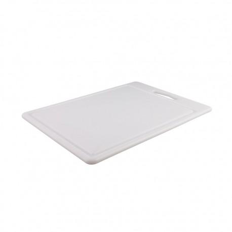 Tabla Cortar 25x35x1cm Blanco Dussel