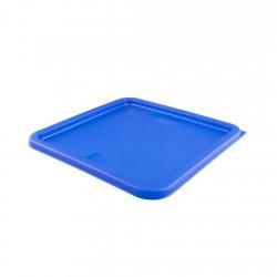 Tapa Plástica Azul...
