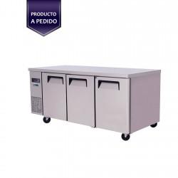 Mesón Refrigerado 3 Puertas VMR3PS-480 Ventus