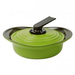 Arrocera con Asas de Silicona 2,8lt Verde 24cm Premium Roichen