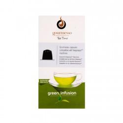 Capsula Gourmesso Green Infusion Tea (te verde) Gourmesso