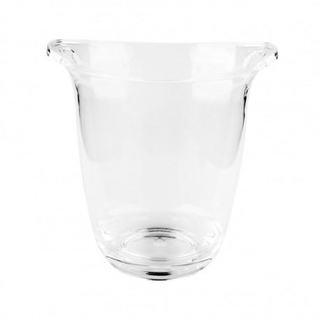 Balde Champagne Acrílico 22x18x23cm 3lt Flor 62364 Lacor