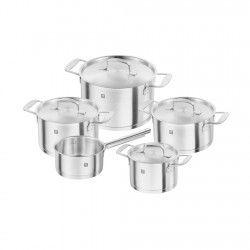 Set Ollas 5pzs Acero Inoxidable Base Zwilling