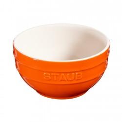 Bowl Redondo Cerámica 17cm Naranjo 1,2lt Staub