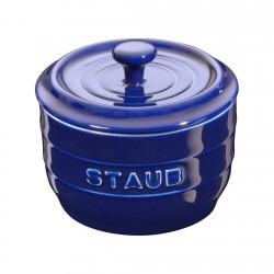 Salero Cerámica 10cm Azul...