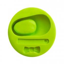 Molde 3D Forma Zapato 5,7cm...