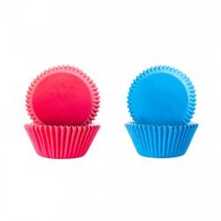 Cápsula Cupcake Azul/Rosa...