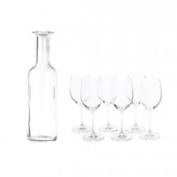 Set 6 Copas + Botella...