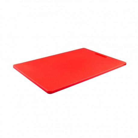 Tabla Cortar Rojo 38x50x1,2cm Dussel