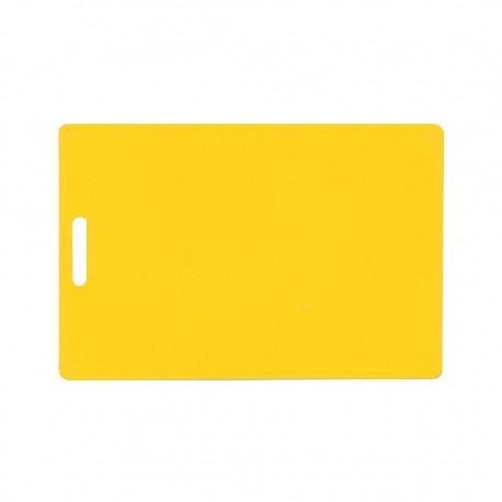 Tabla Cortar Amarillo 38x50x1,2cm Dussel