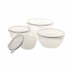 Hermetico set 4 pzas bowl...