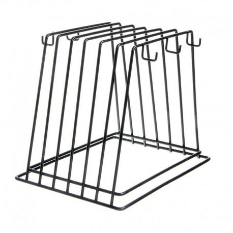 Rack Porta Bandejas y Tablas Negro CB-6K Winco
