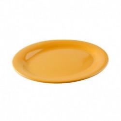 Plato ovalado amarillo...