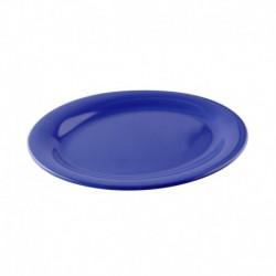 Plato ovalado azul oceano...
