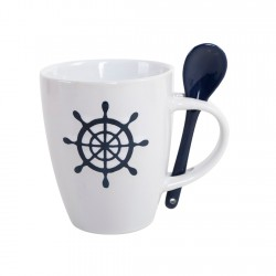 Display Mug 360cc y Cuchara Marina Lugano