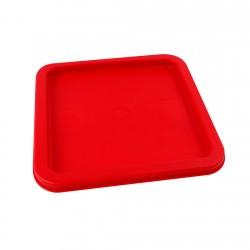 Tapa Plástica Roja Recipiente 6lt y 8lt P-081 Wins
