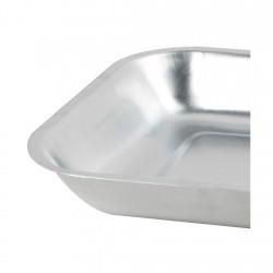 Asadera Aluminio 36x24cm Hogar