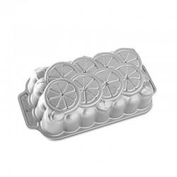 Molde Citrus Loaf Pan 6tz Aluminio Fundido Nordic Ware