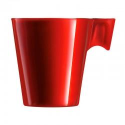 Taza 8cl Red Flashy Expresso Luminarc