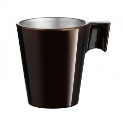 Taza 22cl Chocolate Flashy Longo Luminarc