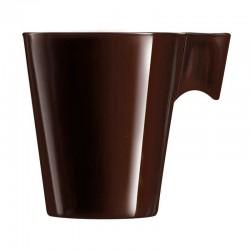 Taza 22cl Chocolate Flashy Longo Luminarc