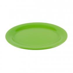 Plato Ovalado Melamina Verde 30cm Efay