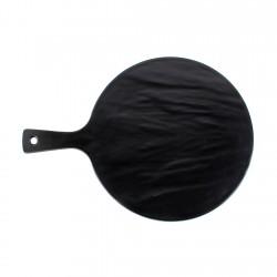 Tabla Pizza Negra 33cm Efay