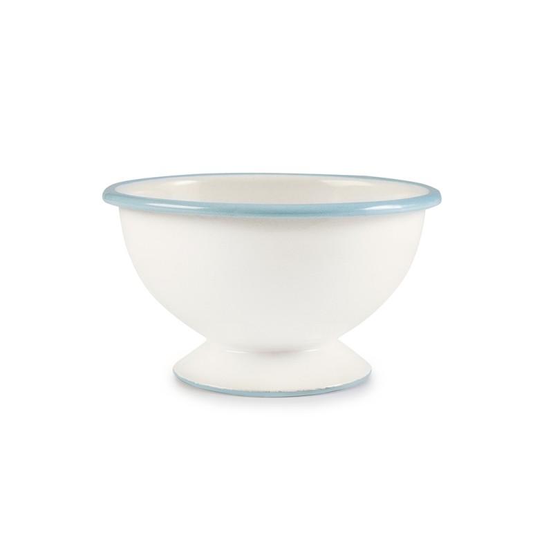 Bowl con pie 12cm Acero Esmaltado Versalles Ibili