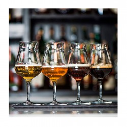Set de 6 Copas Degustación Cerveza 42cl Birrateque Luigi Bormioli