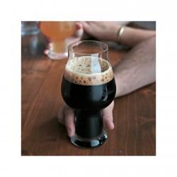 Set de 6 Copas Cerveza Negras 60cl Birrateque Luigi Bormioli