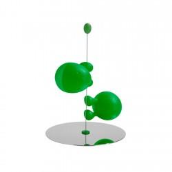 Salero y pimentero Verde Lilliput Alessi