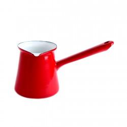 Cafetera Turca 0,5lt Acero Esmaltado Rojo Ibili