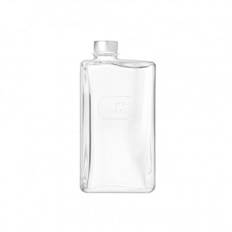 Botella Rectangular 1lt Optima Luigi Bormioli