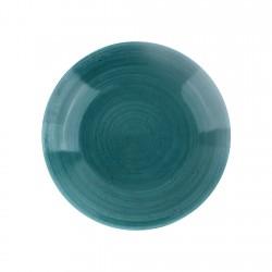 Plato Hondo Twister Ocean Green 28cm Ariane