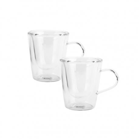 Set de 2 Taza Espresso 12cl Thermic Glass Luigi Bormioli