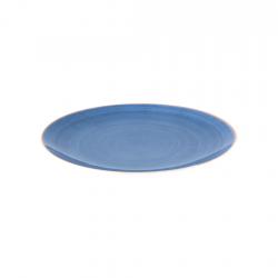 Plato Bajo Terra Azul 27cm Coupe Ariane
