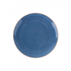 Plato Bajo Terra Azul 27cm...