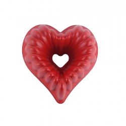 Molde Corazon Rojo 10 Tazas Roichen