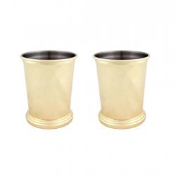 Set de 2 Vaso Mojito Dorado...