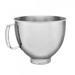 Bowl Metalico Plateado...