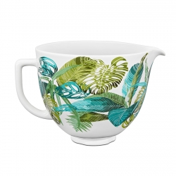 Aditamento Bowl Cerámico Tropical Floral 4,5lt KitchenAid