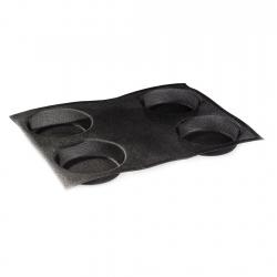 Molde Microperforado 2pzs Redondo 12cm 4+4un Silicona Martellato